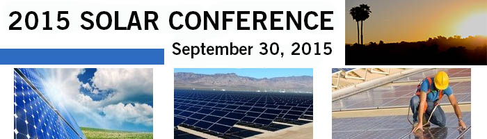 2015 - Solar Conference