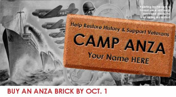 Camp Anza Bricks