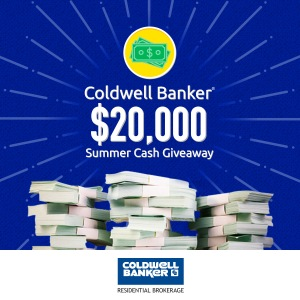 Coldwell Banker $20,000 Summer Cash Giveaway